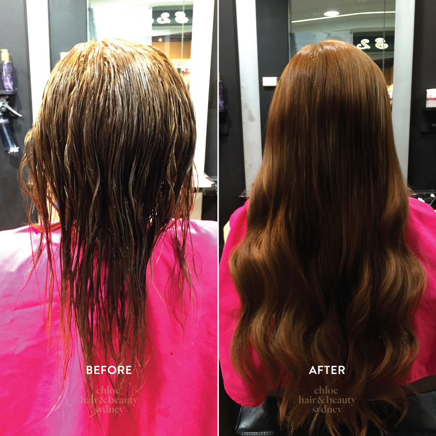 Before after chloe hair beauty sydney hair extensions pmusecretfo Images